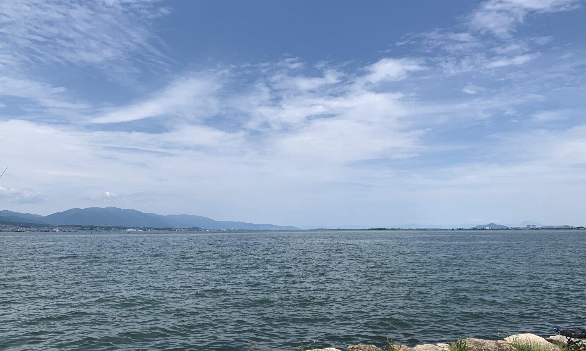 琵琶湖✧︎ (本編とは全く関係ありません。┏○)